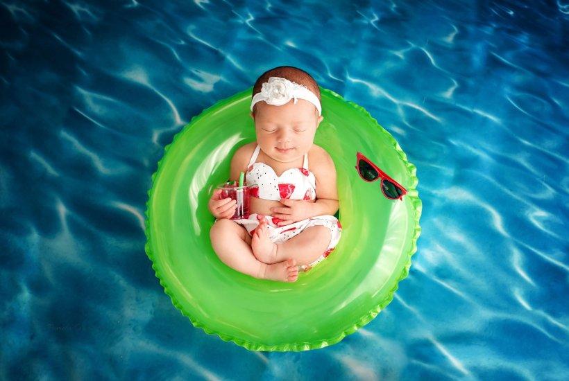 Imagination Sessions Ohio Newborn Pool Session