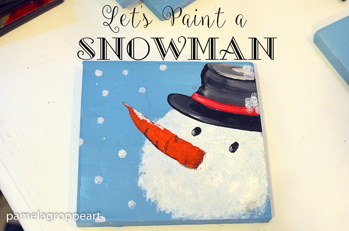 Let's Paint a Snowman