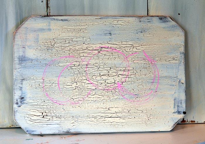 based in lines to paint hydrangeas, pamela groppe art