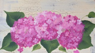 Paint Hydrangeas Fast and Easy