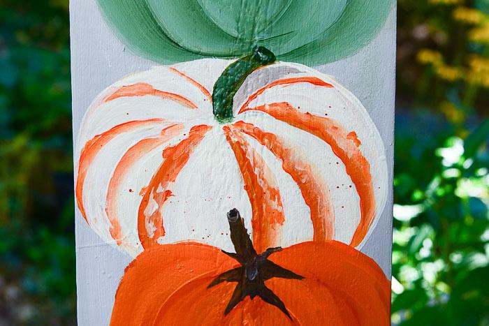Paint a Tiger Pumpkin