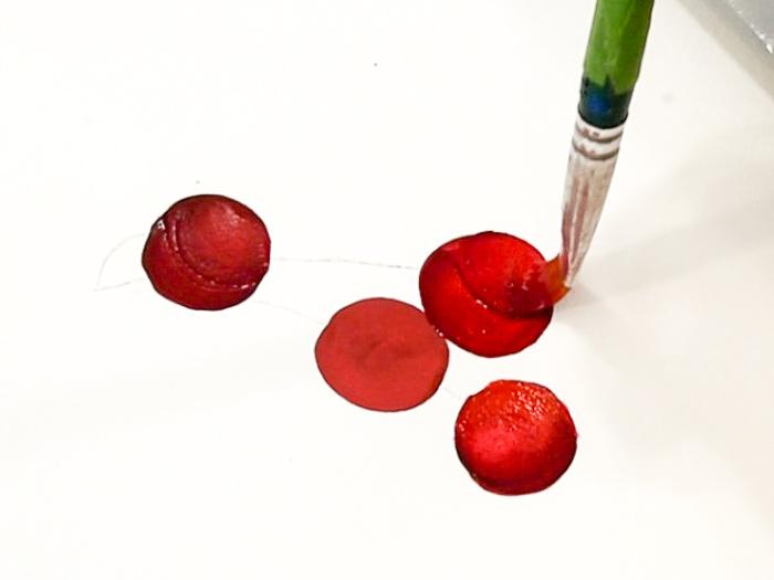 add rib to painting cherries