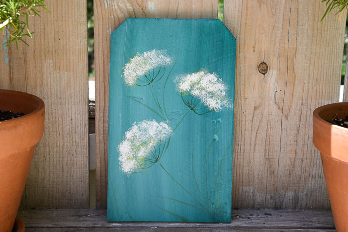 How to Paint Queen Anne's Lace picture of painting