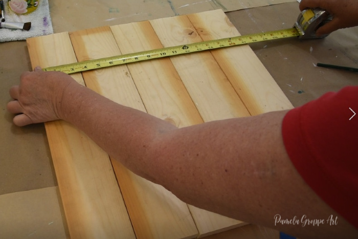 measuring across pallet boards