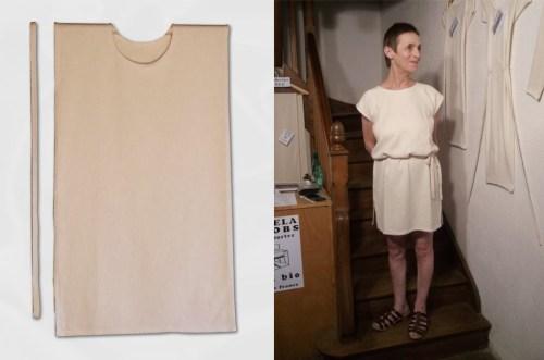 Tee Shirt femme avec ceinture