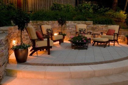 outdoor spaces brings smiling faces