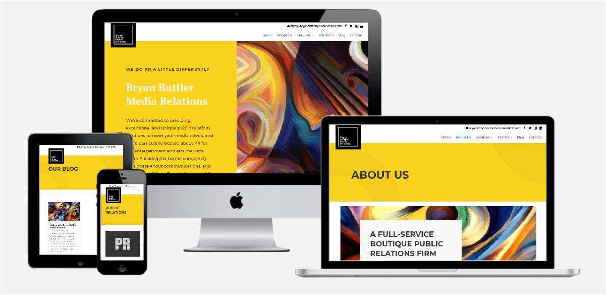 Bryan Buttler Media Relations Website
