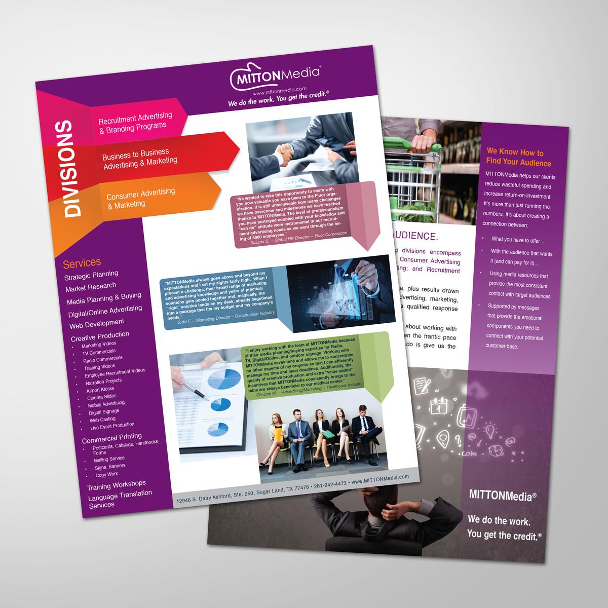 Mitton Media Flyers Pamela Printing Company
