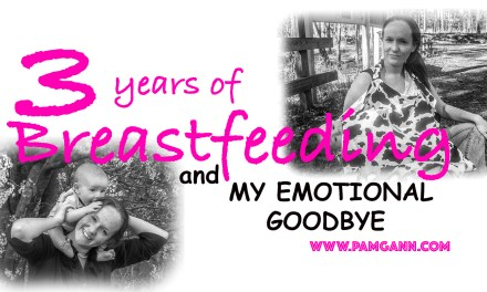 Three Years of Breastfeeding: And My Emotional Goodbye