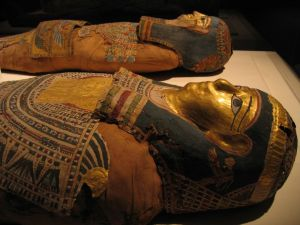 Mummies at our local museum