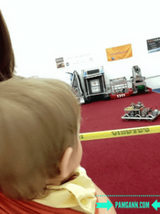watching the robots at the Atlanta Science Festival
