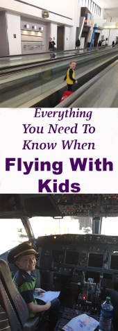 Everything You need to know when flying with kids! #familytravel Airport security, flying with car seats, international travel, flight delays