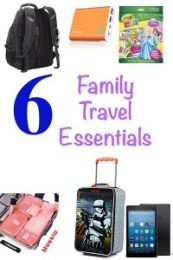 6 Family Travel Essentials