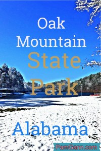 Oak Mountain State Park located outside Birmingham, Alabama is the largest state park in Alabama. With campgrounds, cabins, golf, lakes, horseback riding and water skiing there is sure to be something for everyone.
