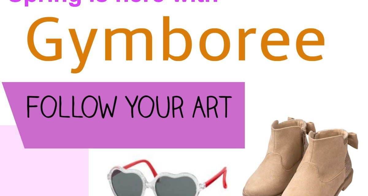 The Gymboree Spring Line is out:  Follow Your Art