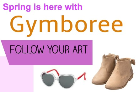 Gymboree's Spring clothing line is here. The best place to shop for children's clothing! Grab your great deals today, and #FollowYourArt #sponsored