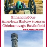 Enhancing our American History Studies with a trip to Chickamauga Battlefield