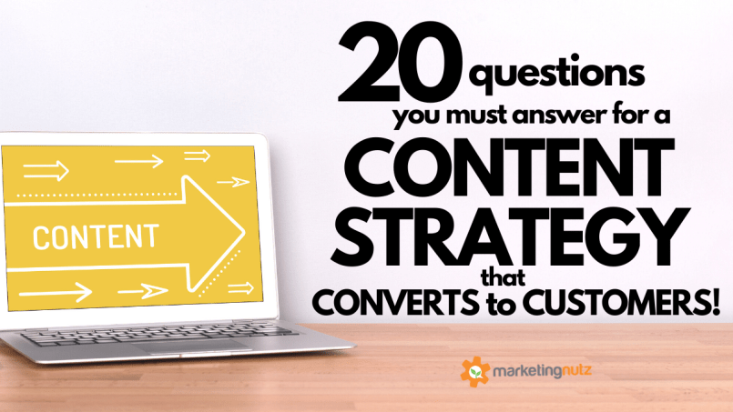 How to Create a Content Marketing Strategy that Converts to Customers Top 20 Questions