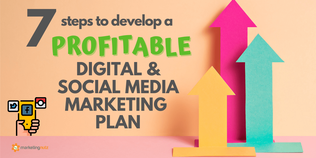 7 Steps to Develop a Profitable Social Media & Digital Marketing Plan