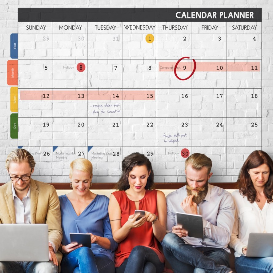2020 Content Editorial Calendar Template Social Media Digital Marketing Free