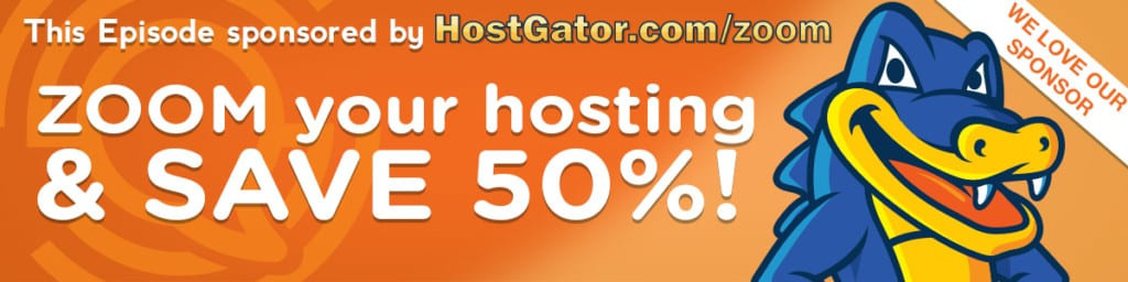 hostgator save 50 percent coupon social zoom factor listeners