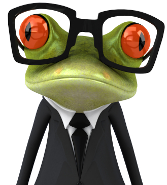 be your own social media frog