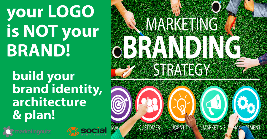 Marketing Brand Strategy in a Nutshell Your Logo is Not Your Brand