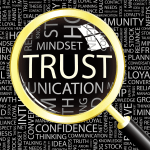 real social relationships require trust