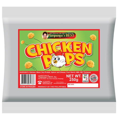 Chicken Pops 250G