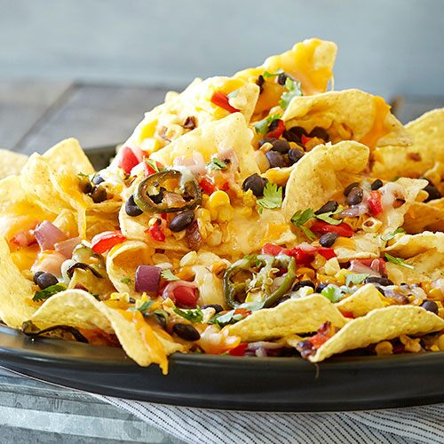 Grilled Loaded Nachos