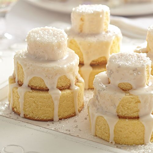 Rose Mini Wedding Cake