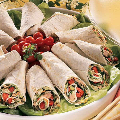 Image result for thai tuna wraps
