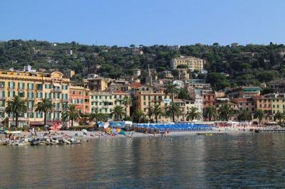 The beautiful town of Santa Margherita