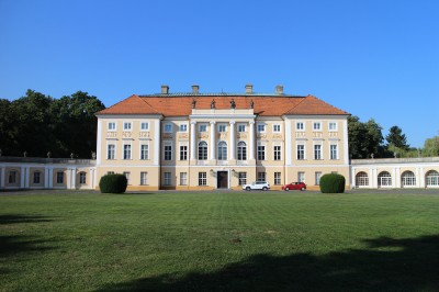 Pawlowice Palace. We stayed here for three nights, It's an amazing place!