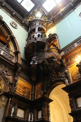 And look at this amazing spiral staircase. Judy saw a photo of this on Facebook and asked if we saw it on our travels. This is it Judy :-)