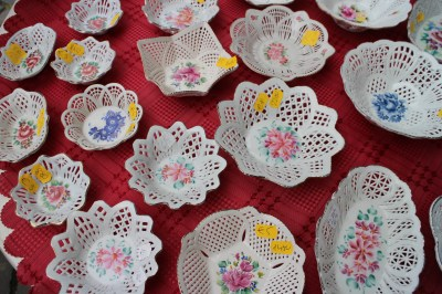 Very typical crockery for Hungary.