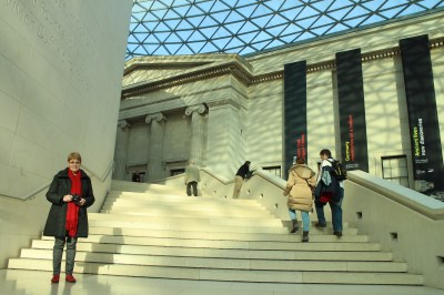 Our next venture into London was to see the British Museum