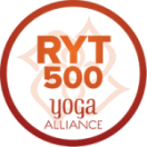 Yoga Alliance Registered Yoga Teacher 500 Hour Tag