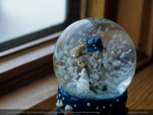 Trapped in a Snow globe