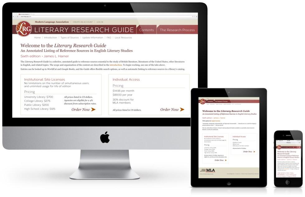LRG Website