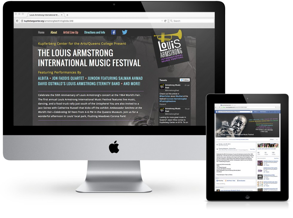Louis Armstrong Website