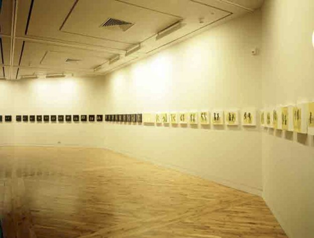 The X Mark of Dora Newman, Installation view, Ferens Gallery, 1995. Photo Peter White