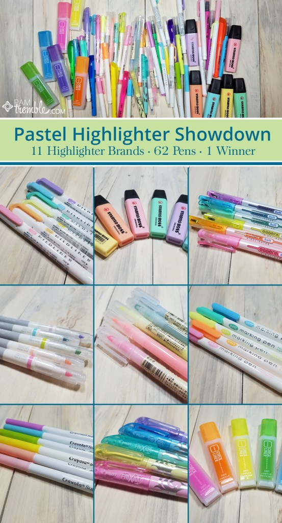 pastel highlighter review