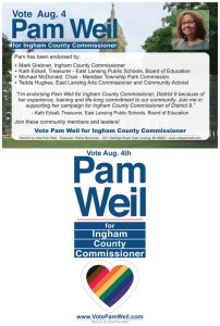 Pam Weil for Ingham County Commissioner