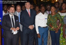 Launch of the France Alumni Ghana platform AT RESIDENCE OF FRANCE IN GHANA with the french Ambassador