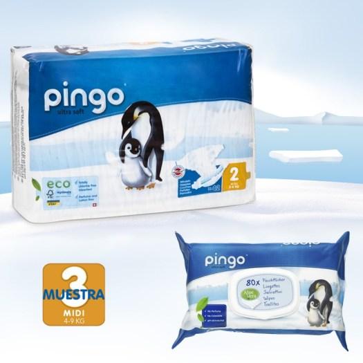 pack descubrimiento de pañales Pingo talla 2