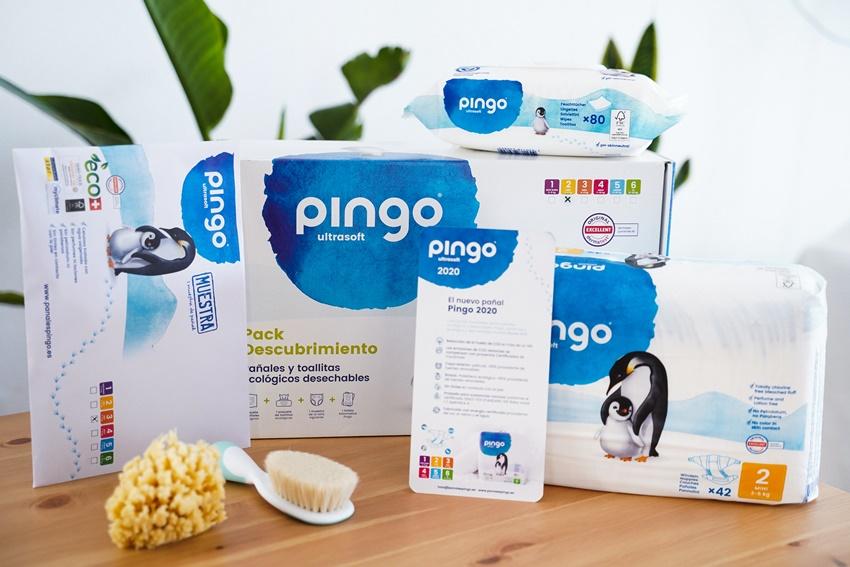 Pack descubrimiento de pañales Pingo. ¡Te conquistarán!
