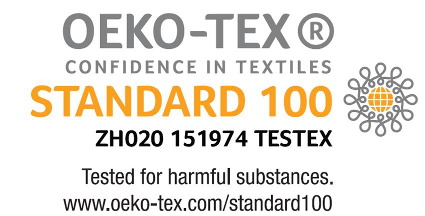 certificado standard 100 de oeko-tex