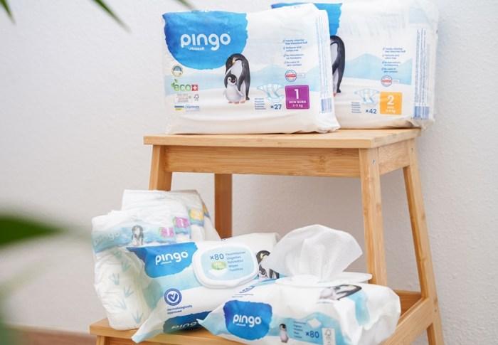 ¿Cómo son los pañales ecológicos Pingo?