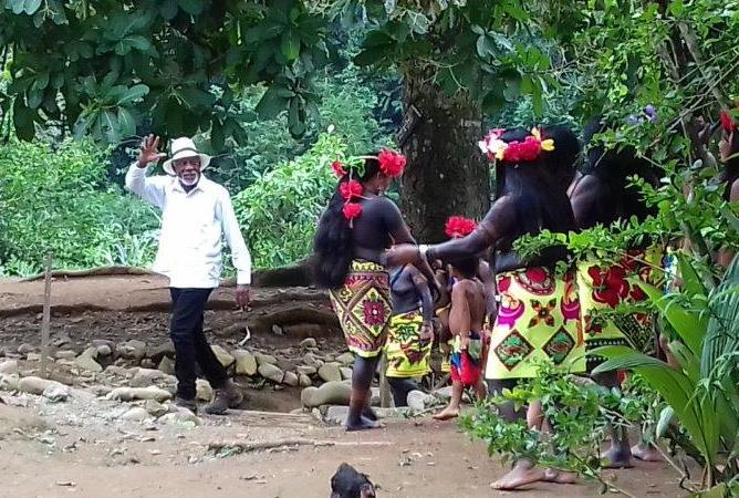 Rainforest and Indigenous Village